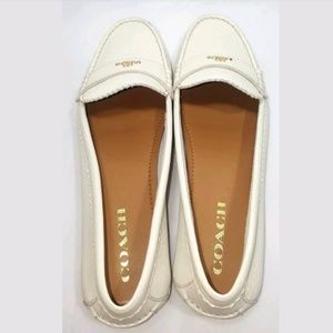 New Coach Odette Casual Leather Loafers 9.5
